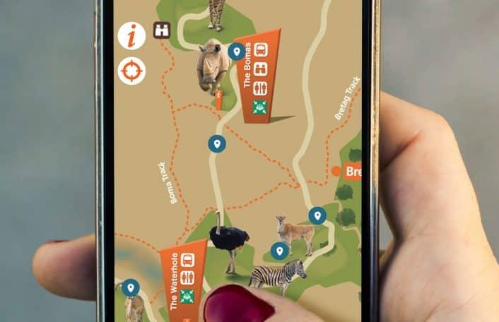 Monarto Safari Park app